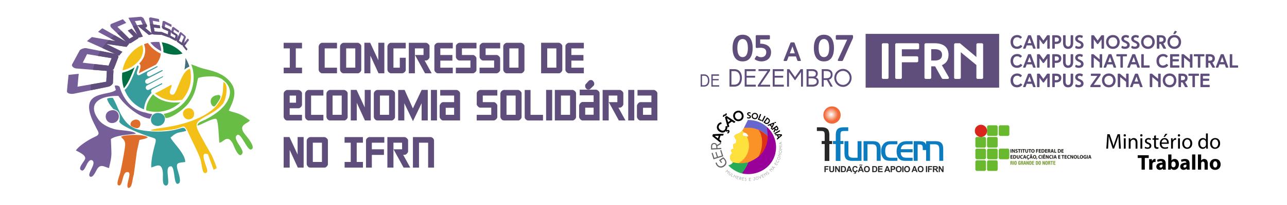 I Congresso de Economia Solidária do IFRN